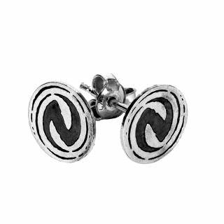Silver earrings 925 Neversea